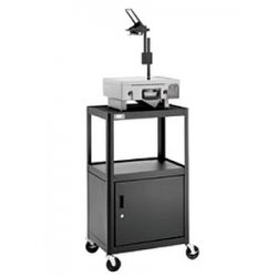 Da-Lite - 4714 - Da-Lite AV2C-42J PIXMobile Projection Cart - Steel