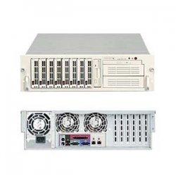 Supermicro - SYS-6035B-8B - Supermicro SuperServer 6035B-8 Barebone System - Intel 5000P - LGA771 Socket - Xeon (Quad-core), Xeon (Dual-core) - 1333MHz, 1066MHz, 800MHz Bus Speed - 32GB Memory Support - DVD-Reader (DVD-ROM) - Gigabit Ethernet - 3U Rack