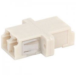 Belkin / Linksys - R6F010 - Belkin Fiber Optic Duplex Coupler - 2 x LC Female Network - 2 x LC Female Network