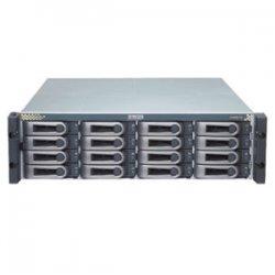 Promise Technology - VTE610FD - Promise VTrak E-Class VTE610FD Hard Drive Array - Serial ATA/300, Serial Attached SCSI (SAS) Controller - 16 x Total Bays - Fibre Channel - 0, 1, 5, 6, 10, 50, 60, 1E RAID Levels - 3U Rack-mountable
