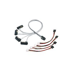 Adaptec - 2232000-R - Adaptec Serial Attached SCSI (Controller-based) Fan-out Cable - SFF-8087 - SFF-8482 - 3.28ft