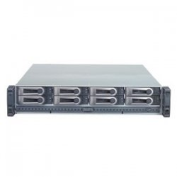 Promise Technology - VTM210P - Promise VTrak M-Class M210p Hard Drive Array - Serial ATA/300 Controller - 8 x Total Bays - Network (RJ-45) - 0, 1, 5, 6, 10, 50, 1E RAID Levels - 2U Rack-mountable