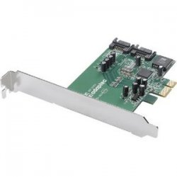 Adaptec - 2232100-R - Adaptec 1220SA 2 Port Serial ATA RAID Controller - Up to 300MBps - 2 x 7-pin Serial ATA/300 - Serial ATA