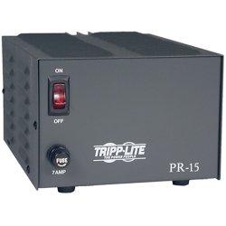 Tripp Lite - PR15 - Tripp Lite DC Power Supply 15A 120VAC to 13.8VDC AC to DC Conversion TAA GSA