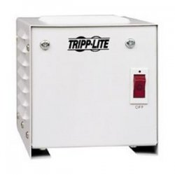 Tripp Lite - IS250 - Tripp Lite Isolation Transformer 250W Surge 120V 2 Outlet 6' Cord TAA GSA - Receptacles: 2 x NEMA 5-15R - 680J