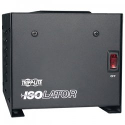 Tripp Lite - IS500 - Tripp Lite 500W Isolation Transformer with Surge 120V 4 Outlet 6ft Cord TAA GSA - 500W - 110V AC