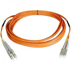 Tripp Lite - N520-07M - Tripp Lite 7M Duplex Multimode 50/125 Fiber Optic Patch Cable LC/LC 23' 23ft 7 Meter - LC Male - LC Male - 22.97ft - Orange