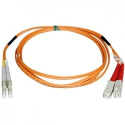 Tripp Lite - N316-06M - Tripp Lite 6M Duplex Multimode 62.5/125 Fiber Optic Patch Cable LC/SC 20' 20ft 6 Meter - LC Male - SC Male - 19.69ft - Orange