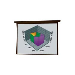 Draper - 101179 - Draper Premier 101179 Electrol Projection Screen - 108 x 144 - M1300 - 180 Diagonal
