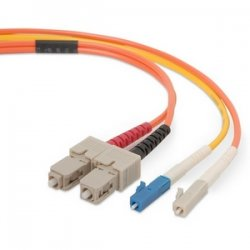 Belkin / Linksys - F2F902L7-02M - Belkin - Mode conditioning cable - LC single-mode (M) to SC multi-mode (M) - 6.6 ft - B2B
