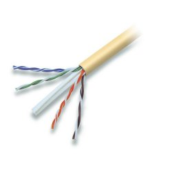 Belkin / Linksys - A7L704-1000YL-P - Belkin 900 Series - Bulk cable - 1000 ft - UTP - CAT 6 - plenum, solid - yellow
