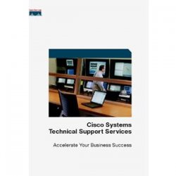 Cisco - CON-SNTE-3560GTS - Cisco SMARTnet - 1 Year - Service - 8 x 5 x 4 - Carry-in - Maintenance - Parts