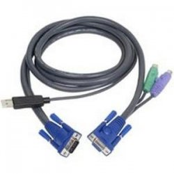 Aten Technologies - 2L5503UP - Aten PS/2 KVM Cable - 10 ft