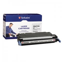 Verbatim / Smartdisk - 95542 - Verbatim Remanufactured Laser Toner Cartridge alternative for HP Q6473A Magenta - Magenta - Laser