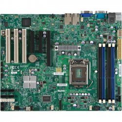 Supermicro - X9SCA-F-O - Supermicro X9SCA-F Server Motherboard - Intel C204 Chipset - Socket H2 LGA-1155 - Retail Pack - ATX - 1 x Processor Support - 32 GB DDR3 SDRAM Maximum RAM - 1.07 GHz Memory Speed Supported - 4 x Memory Slots - Serial ATA/300,