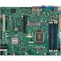 Supermicro - MBD-X9SCI-LN4F-O - Supermicro X9SCI-LN4F Server Motherboard - Intel C204 Chipset - Socket H2 LGA-1155 - Retail Pack - ATX - 1 x Processor Support - 32 GB DDR3 SDRAM Maximum RAM - 1.33 GHz Memory Speed Supported - 4 x Memory Slots - Serial