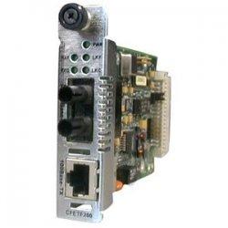 Transition Networks - CFETF1015-205 - Transition Networks Fast Ethernet Slide-in-Module Media Converter - 1 x RJ-45 , 1 x SC Duplex - 100Base-TX, 100Base-FX