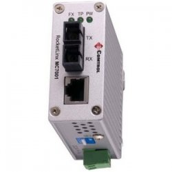 Comtrol - 32020-3 - Comtrol RocketLinx MC7001 Fast Ethernet Media Converter - 1 x RJ-45 - 10/100Base-TX, 100Base-FX - External
