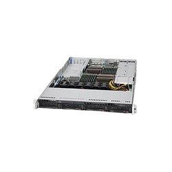 Supermicro - SYS-6016T-NTRF4+ - Supermicro SuperServer 6016T-NTRF4+ Barebone System - 1U Rack-mountable - Intel 5520 Chipset - Socket B LGA-1366 - 2 x Processor Support - Black - 192 GB DDR3 SDRAM DDR3-1333/PC3-10600 Maximum RAM Support - Serial ATA/300