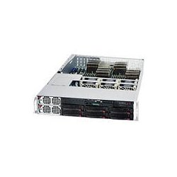 Supermicro - AS-2042G-6RF - Supermicro A+ Server 2042G-6RF Barebone System - 2U Rack-mountable - AMD - Socket G34 LGA-1944 - 4 x Processor Support - Black - 512 GB DDR3 SDRAM DDR3-1333/PC3-10600 Maximum RAM Support - Serial ATA/300, Serial Attached SCSI