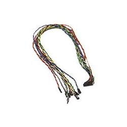 Supermicro - CBL-0068L - Supermicro Front Panel Split Cable - 11.81""