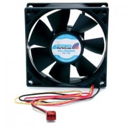 StarTech - FANBOX2 - StarTech.com 80x25mm Dual Ball Bearing Computer Case Fan w/ TX3 Connector - 80mm - 2500rpm