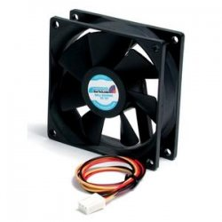 StarTech - FAN8X25TX3L - StarTech.com 80x25mm Ball Bearing Quiet Computer Case Fan w/ TX3 Connector - 80mm - 2000rpm