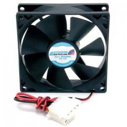 StarTech - FANBOX92 - StarTech.com 92x25mm Dual Ball Bearing Computer Case Fan w/ LP4 Connector - 92mm - 2200rpm