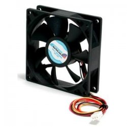 StarTech - FAN9X25TX3L - StarTech.com 92x25mm Ball Bearing Quiet Computer Case Fan w/ TX3 Connector - System fan kit - 92 mm