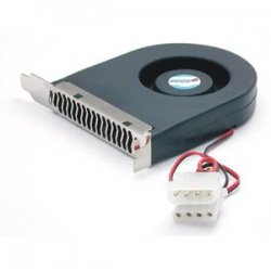 StarTech - FANCASE - StarTech.com Expansion Slot Rear Exhaust Cooling Fan with LP4 Connector - System fan kit