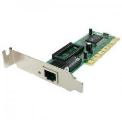 StarTech - ST100SLP - StarTech.com 1 Port Low Profile PCI 10/100 Mbps Ethernet Network Adapter Card - PCI - 1 x RJ-45 - 10/100Base-TX