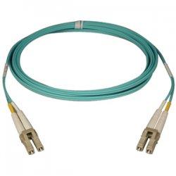 Tripp Lite - N820-25M - Tripp Lite 10Gb Duplex Multimode 50/125 OM3 - LSZH Fiber Patch Cable, (LC/LC) - Aqua, 25M (82-ft.)