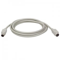 Tripp Lite - P222-025 - Tripp Lite 25ft Keyboard Mouse Extension Cable PS/2 Mini-DIN6 M/F 25' - (Mini-DIN6 M/F) 25-ft.