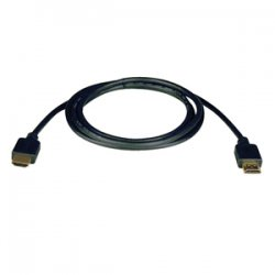 Tripp Lite - P568-050-P - Tripp Lite 50ft Standard Speed HDMI Cable Digital Video with Audio Plenum Rated M/M 50' - Male HDMI - Male HDMI - 50ft - Black