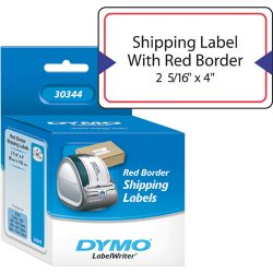 DYMO - 30344 - Labels Border Hipping 2 1 4