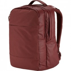 Incipio - INCO100207-DRD - Incase City Carrying Case (Backpack) for 17 Notebook - Deep Red - 270 x 500D Polyester - Shoulder Strap - 20 Height x 13 Width x 5 Depth