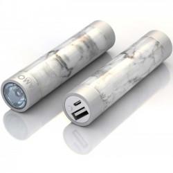 Mota / UNorth - STIK22-MRBLE - TAMO RapidFast Super Premium Battery Stick 2200mah Marble - For USB Device - Lithium Ion (Li-Ion) - 2200 mAh - 1 A - 5 V DC Output - 5 V DC Input - 2 x - Marble