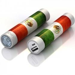 Mota / UNorth - STIK22-MXCO - TAMO RapidFast Super Premium Battery Stick 2200mah Mexico Flag - For USB Device - Lithium Ion (Li-Ion) - 2200 mAh - 1 A - 5 V DC Output - 5 V DC Input - 2