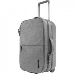 Incipio - CL90019 - Incase EO Carrying Case (Roller) for 17 Accessories - Heather Gray - Weather Resistant - 300D Polyester - 23.5 Height x 15 Width x 9.5 Depth