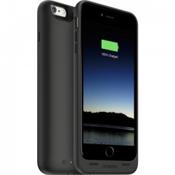 Mophie - 3411 - Mophie juice pack Wireless & Charging Base Made for iPhone 6S Plus/6 Plus - iPhone 6S Plus, iPhone 6 Plus - Black
