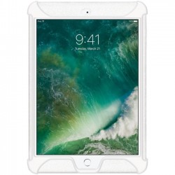 Amzer - AMZ202272 - Amzer Silicone Skin Jelly Case for Apple iPad 9.7 Solid White - iPad (2017) - Solid White - Textured - Silicone