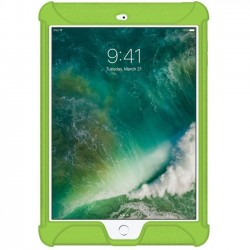 Amzer - AMZ202276 - Amzer Silicone Skin Jelly Case for Apple iPad 9.7 Green - iPad (2017) - Green - Textured - Silicone