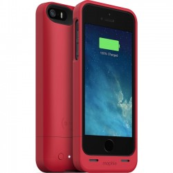 Mophie - 2252JPHIP5RED - Mophie juice pack iPhone Case - iPhone - Red