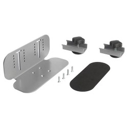Bretford - HA131BG1 - Bretford MobilePro HA131BG1 Clamp Mount for Flat Panel Display - 61.73 lb Load Capacity - Aluminum