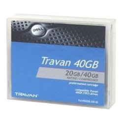 Dell - 9W088 - Dell-IMSourcing Travan Data Cartridge - TR-7 - 20 GB (Native) / 40 GB (Compressed)