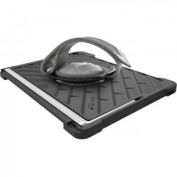 Gumdrop Cases - HSDT-HP12E-BLK_BLK - Gumdrop Drop Tech Carrying Case for 12 Tablet - Black - Silicone Strap - Hand Strap