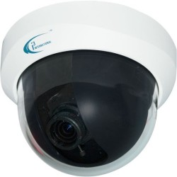 i3 International - AX50DB - i3International Ax50DB 2 Megapixel Network Camera - Color - H.264, MPEG-4, Motion JPEG - 1920 x 1080 - 3 mm - 9 mm - 3x Optical - Cable - Dome - Wall Mount