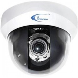 i3 International - AX52D - i3International Ax52D 2 Megapixel Network Camera - Color, Monochrome - H.264, MPEG-4, Motion JPEG - 1920 x 1080 - 3 mm - 9 mm - 3x Optical - Cable - Dome