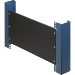 Rack Solution - 102-1829 - Rack Solutions 8U Filler Panel with Stability Flanges - Steel - Black - 1 Pack