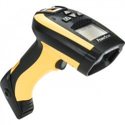 Datalogic - PM9300-D433RB - Datalogic PowerScan PM9300-D Handheld Barcode Scanner - Wireless Connectivity - 104 scan/s1D - Laser - , Radio Frequency - Yellow, Black